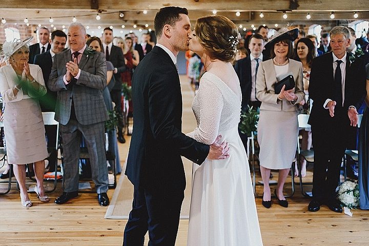 Bee and Matthew's 'Scandi and Simple' Industrial Inspired Derbyshire Wedding by Miki Studios