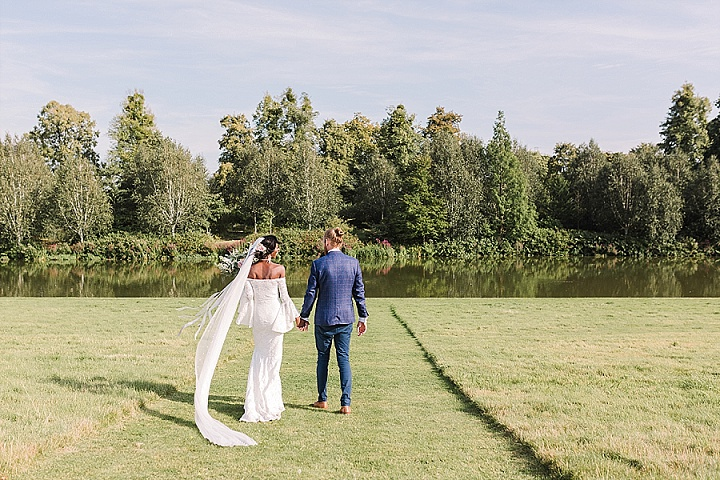 Melissa and George's Macramé and Dream Catchers 'Boho Heaven Wedding' by Danielle Smith Photography