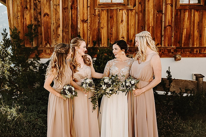 Ashley and Ben's 'Rustic Lux' Intimate Wedding in Austria by Wild Connections Photography