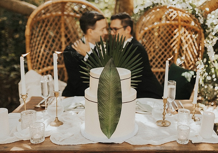 Chic and Minimalist Tropical Wedding Inspiration