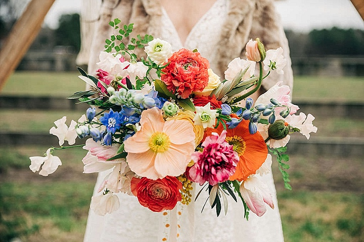 'Deep Tones and Textures' a Vintage Boho Country Elopement