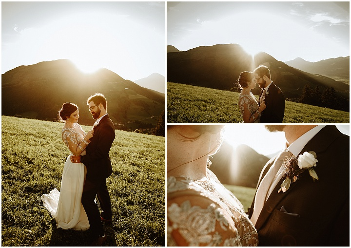 Ashley and Ben's 'Rustic Lux' IntimateWedding in Austria by Wild Connections Photography