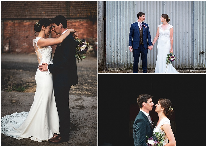 Jennifer and Iain's Rustic DIY Gloucester Farm Wedding by Michael Keane Weddings