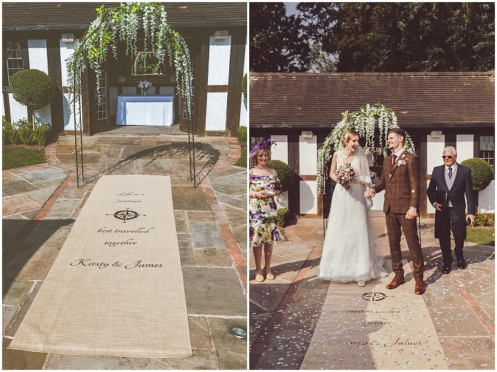 Boho Loves: Butterfly Aisle Runners - 'Let us Style Your Aisle'