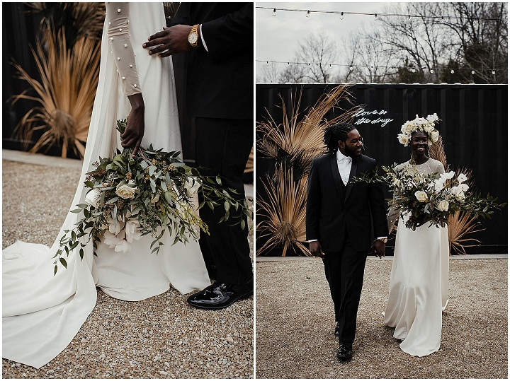 Elegant Modern Elopement Wedding Inspiration