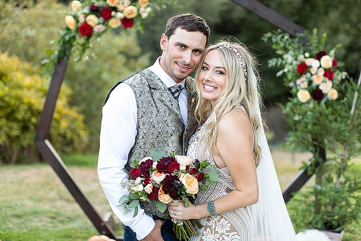 Devin and Cisco's 'Boho-Chic, Meets Rustic Country' California Barn Wedding