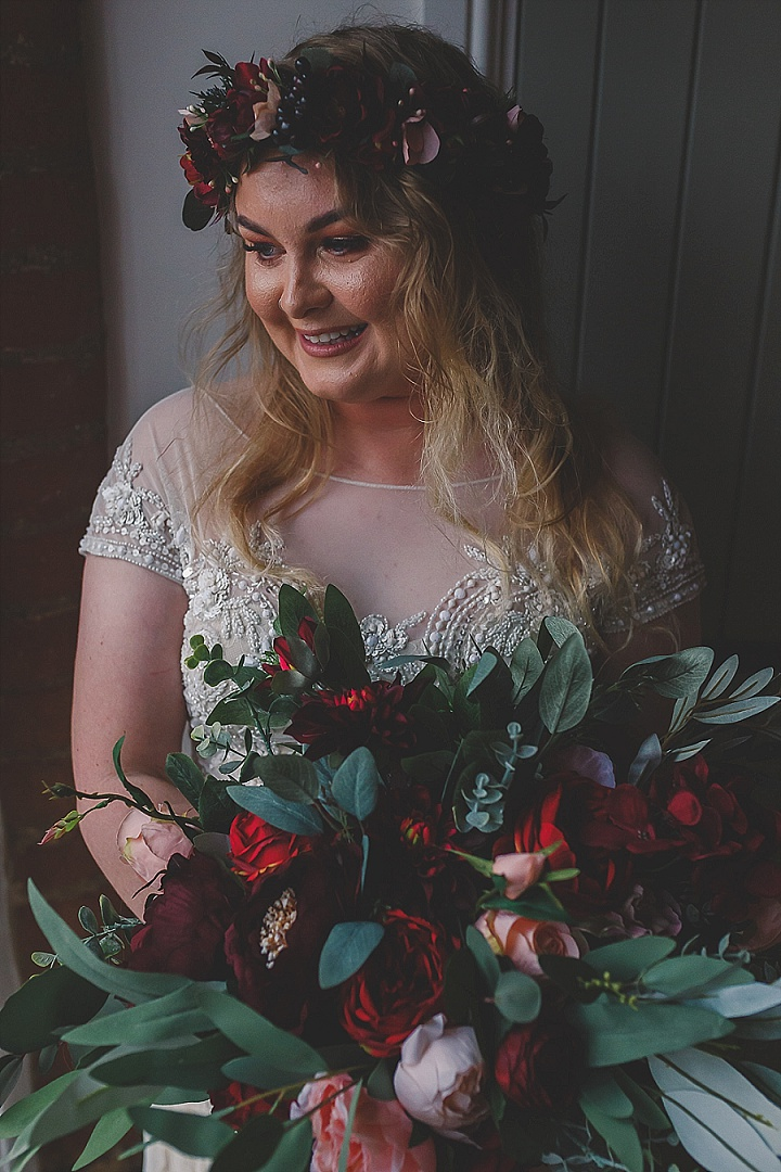 Lizzie and Ollie's Home Spun Burgundy and Pink Derbyshire Weddingby Eternal ImagesPhotography Ltd