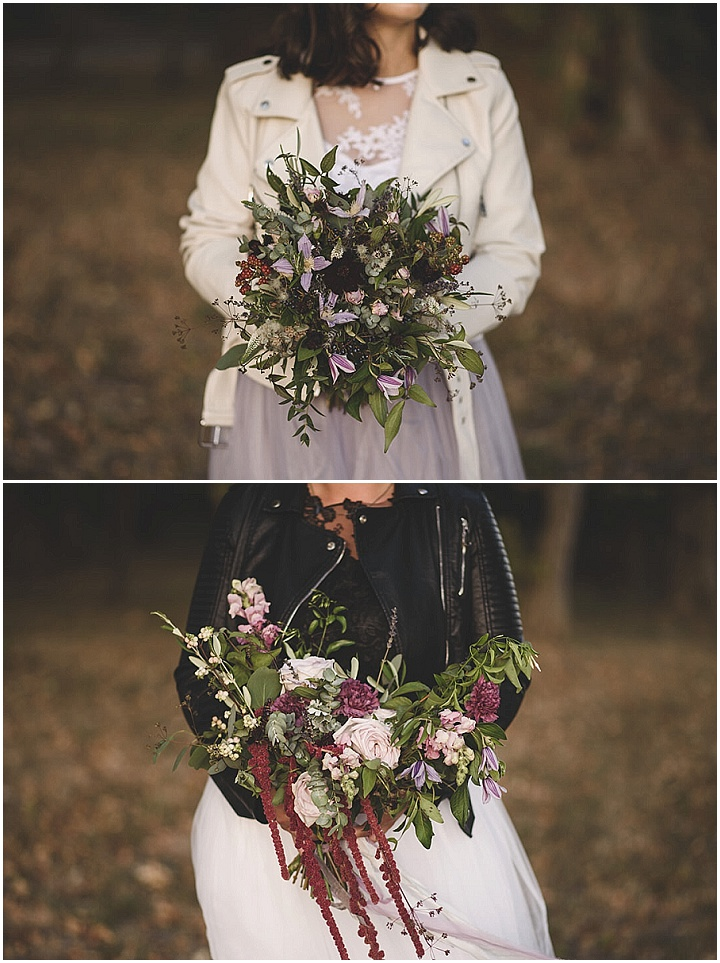 'Edgy Provence Elopement Story' With Rock and Roll Details and Lavender For Cool and Creative Couples
