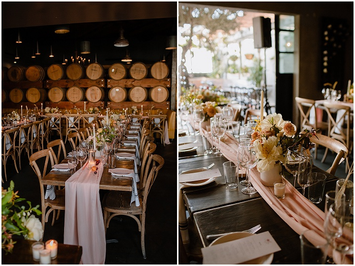Michelle and Matthew's Vegan Friendly, Peach and Gold LA Wedding by Eve Rox Photography