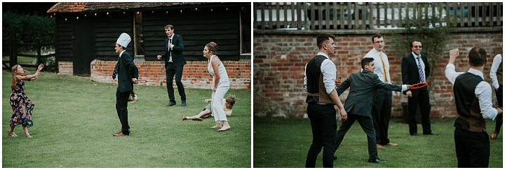 Christopher and Chad's 'Eclectic English Charm Meets Southern American' Barn Wedding in Oxfordshire by MT Studios