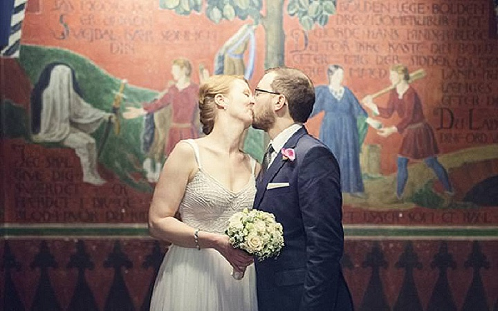 Copenhagen Town hall marriages are also popular amongst couples wishing to elope abroad.