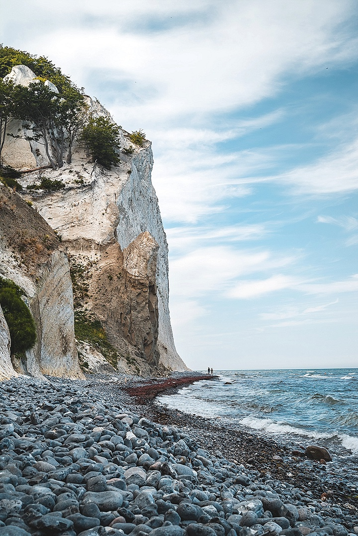 Møn's Klint, also known as Mon's Cliffs, is a top couple destination as this beautiful landscape offers an unforgettable experience for anyone looking to experience a small intimate wedding abroad.