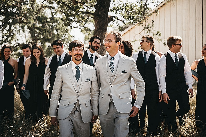 Kyle and Scott's Outdoor Loving DIY California Wedding by VILD Photography
