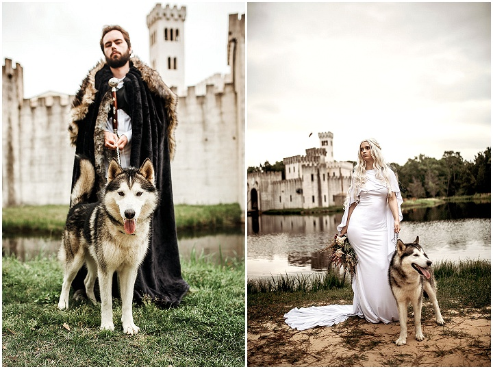 'A Union of Ice & Fire' Game of Thrones Wedding Inspiration