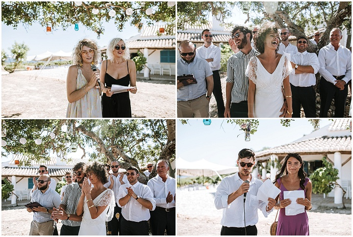 Lewis and Gemma's 'Never Ending Party' Bohemian Villa Wedding in Portugal by Ana Parker