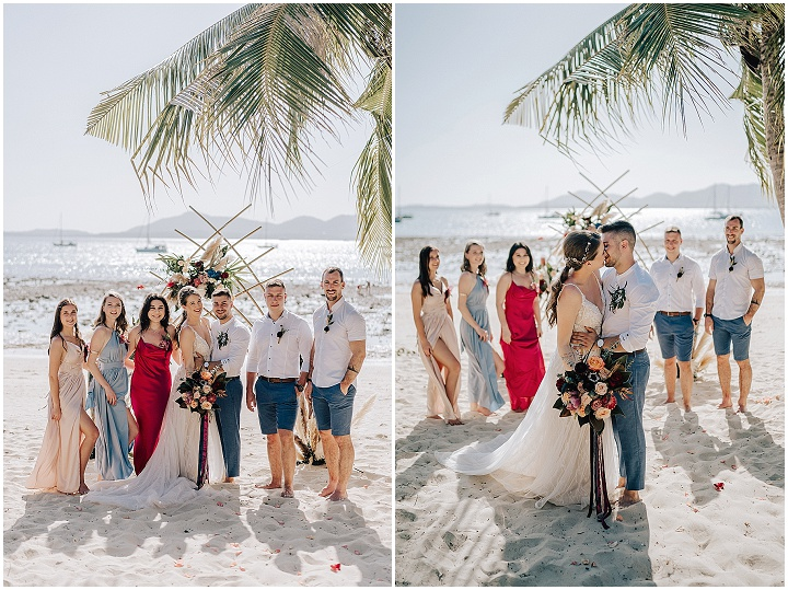 Zarja and Matic's Intimate Boho Beach Wedding in Thailand by Wedding Boutique Phuket