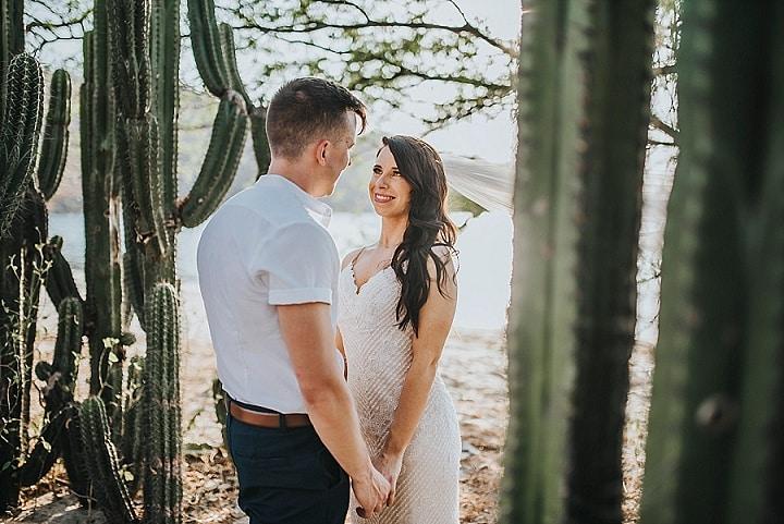 Amanda and Jonathan's 'Tropical Boho Chic' Costa Rica Beach Wedding by Papaya Wedding