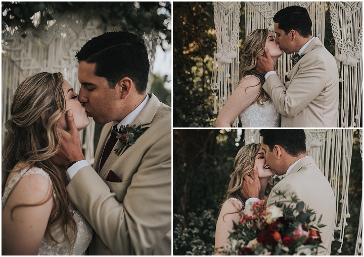 Lexi and Jeff's 'Elegant Boho' Intimate Tennessee Wedding by Alex Kournetas