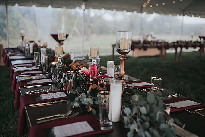 Lexi and Jeff's 'Elegant Boho' Intimate Tennessee Wedding by Alex Kournetas