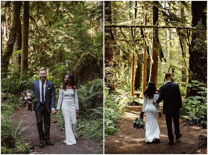 Jacqueline and Ryan's Lakeside National Park Elopement by Vows and Peaks