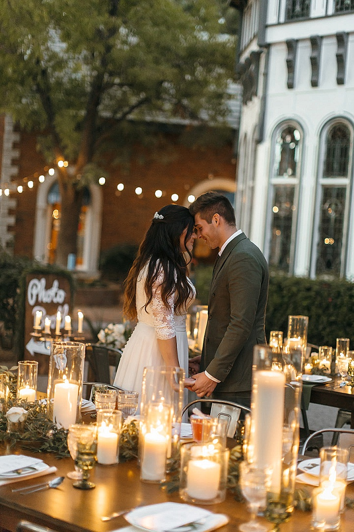 'Photo Booth Love' Backyard Chateau Wedding Inspiration