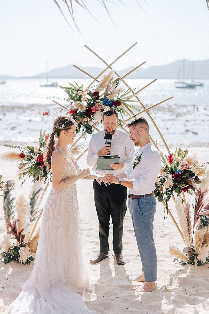 Zarja and Matic's Intimate Boho Beach Wedding in Thailand by Wedding Boutique Phuket - Boho Wedding Blog