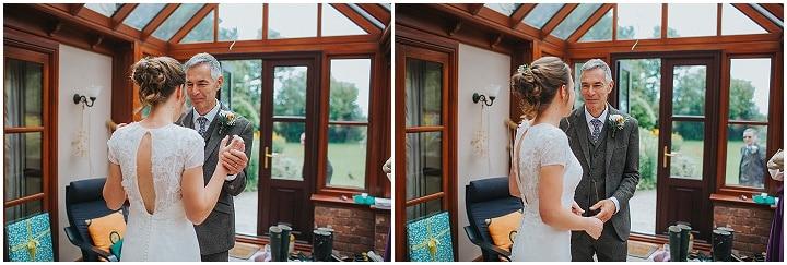 James and Charlie's Home Grown, Home Spun DIY Shropshire Farm Wedding by Lisa Webb