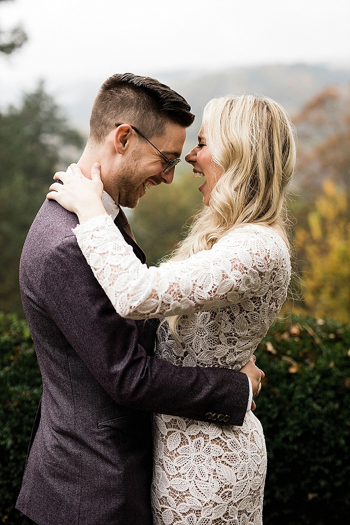 Ashley and Barret's 'Deep Tones and First Looks' Arkansas Wedding by Meredith Events