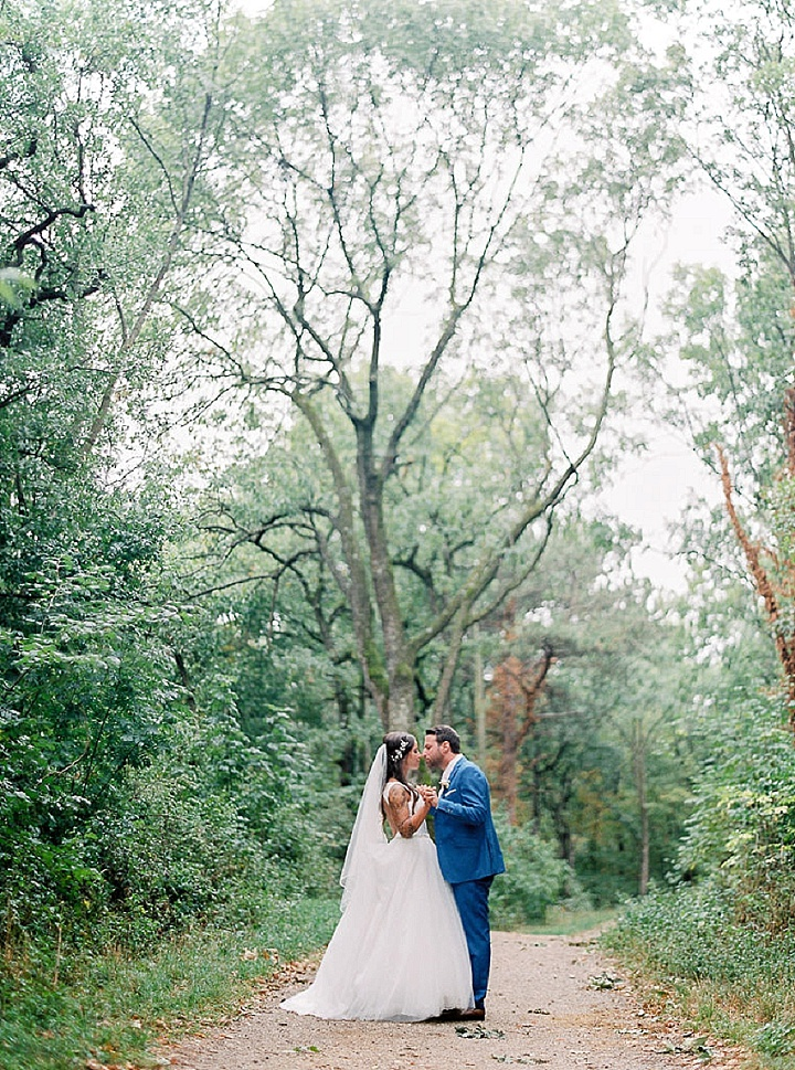 Jasmine and Suvad's Shabby Chic Pretty Pastel Wedding in Austria