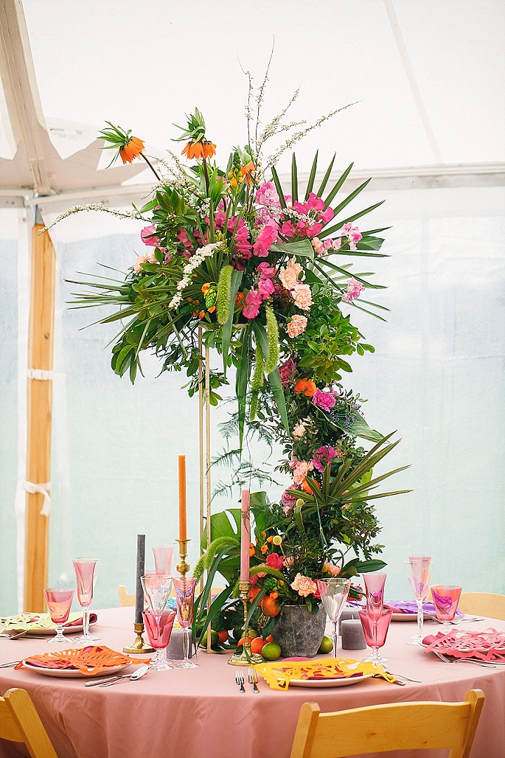 Viva La Mexico! Bold and Bright Fiesta Wedding Inspiration