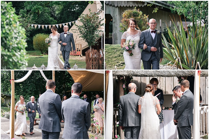 Lauren and Nathan's Handmade South Devon Yurt Wedding by Memories and Milestones