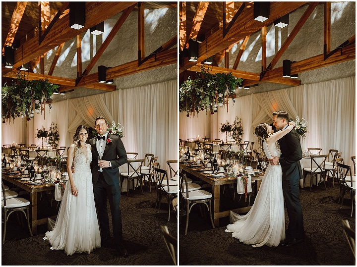 Tiffany and Trevor's Flower Filled, Canadian Country Club Wedding by Ariana Tennyson Photography