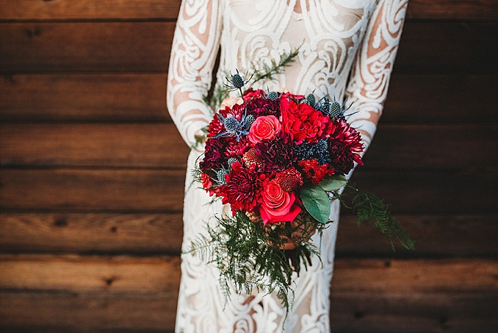 'Beauty in the Middle of Winter' Colourful and Modern Winter Wedding Inspiration