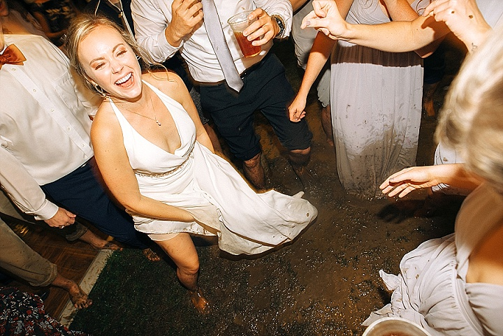 Emelyn and Breck's Crazy Mud Bath Wedding in Virginia by Sowing Clover Photography