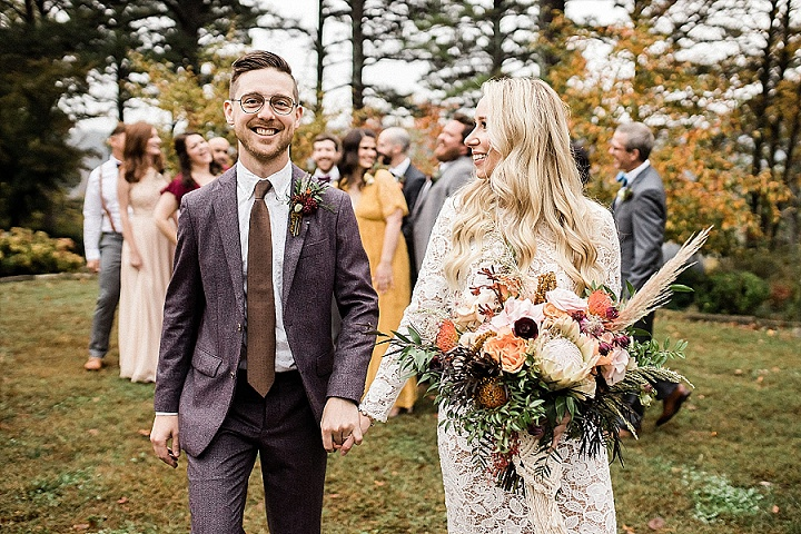 Ashley and Barret's 'Deep Tones and First Looks' Arkansas Weddingby Meredith Events