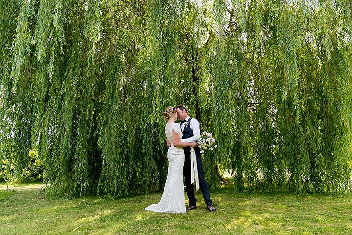 Tim and Abi's Laid Back Handfasting Glastonbury Wedding by Ian Jeffery