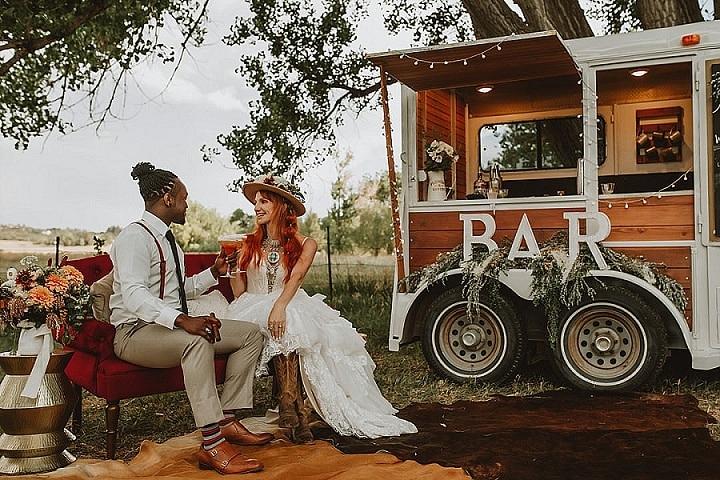 'Rustic Country Boho' Organic Chic Wedding Inspiration