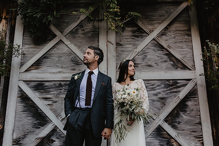 Tanya and Michael's Upstate New York Autumn Garden Wedding by Nicole Nero Studio