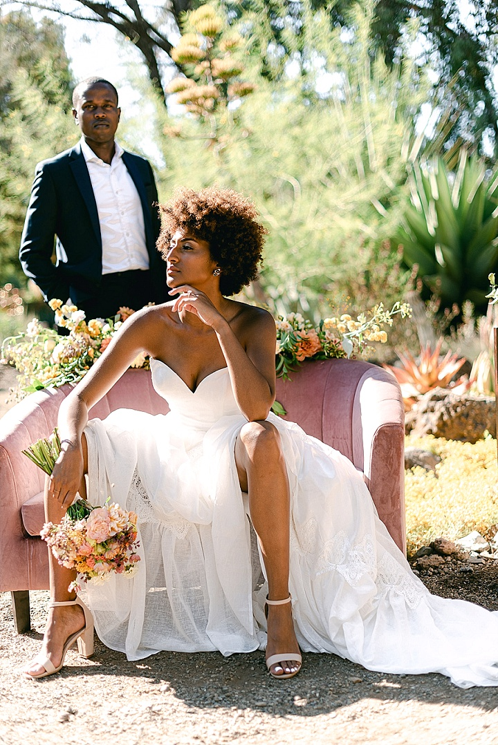 'Vibrant California Summer Wedding' - Cactus Garden Wedding Inspiration