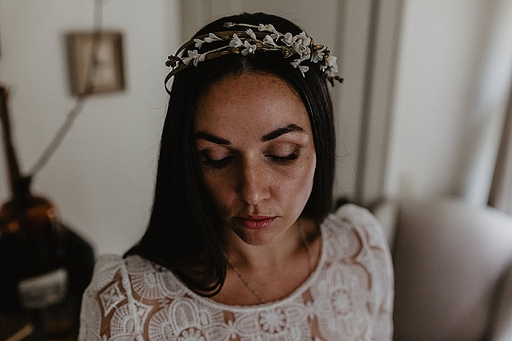 Tanya and Michael's Upstate New York Autumn Garden Wedding by Nicole Nero Studio