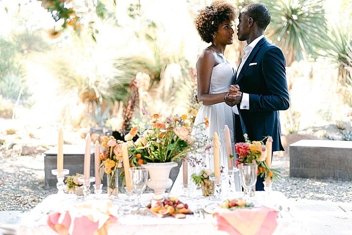 'Vibrant California Summer Wedding' - Cactus Garden Wedding Inspiration