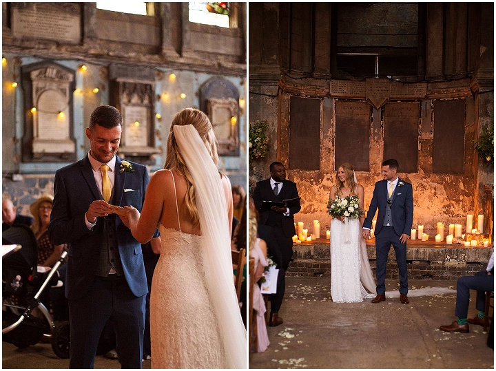 Rebekah and Ben's 'Rustic Chic Meets City Flare' London Wedding by Lottie Povall Photography