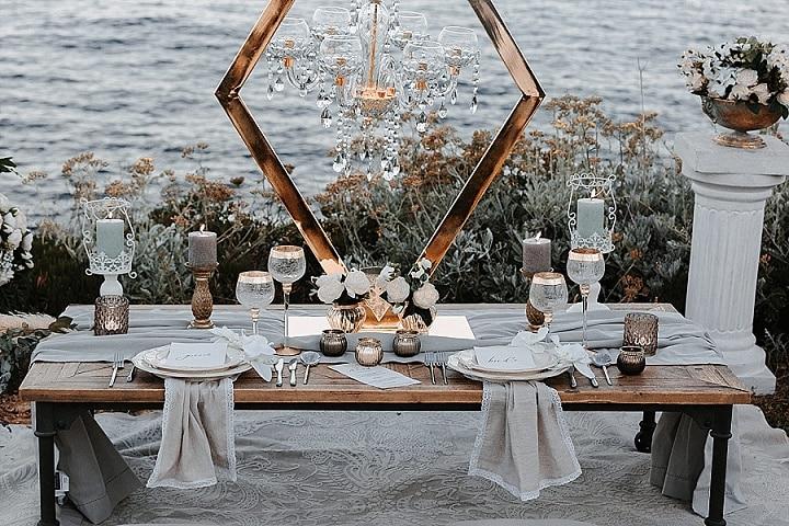 Elegant South of France Ocean View Elopement Inspiration