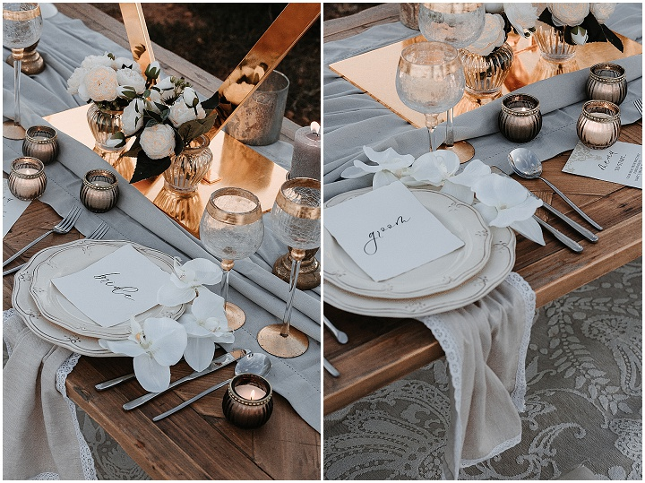 Elegant South of France Ocean View Elopement Inspiration