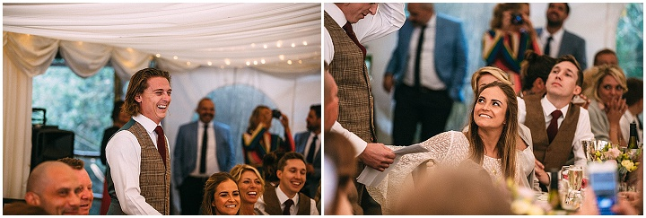 Holly and Oliver's Woodland Hippy Wedding with Axe Throwing and Lots of Fun by Joseph Kinerman Photography