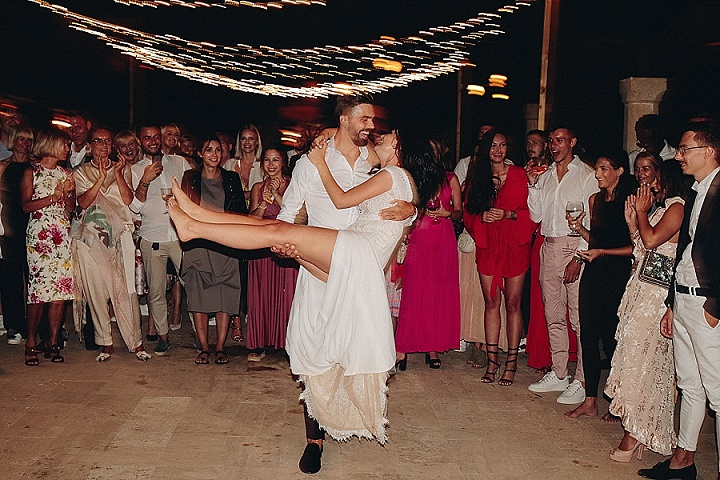 Lukas and Victoria's Romantic White and Green Mallorca Wedding by Mihoci Studios