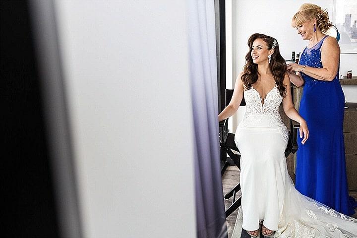 Boris and Lana's Elegant Brooklyn Roof Top Wedding by Stak Studio