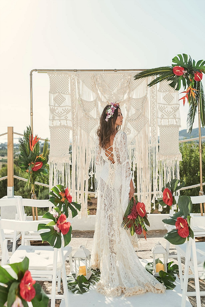 'Balearic Boho with a Tropical Twist' Ibiza Wedding Inspiration