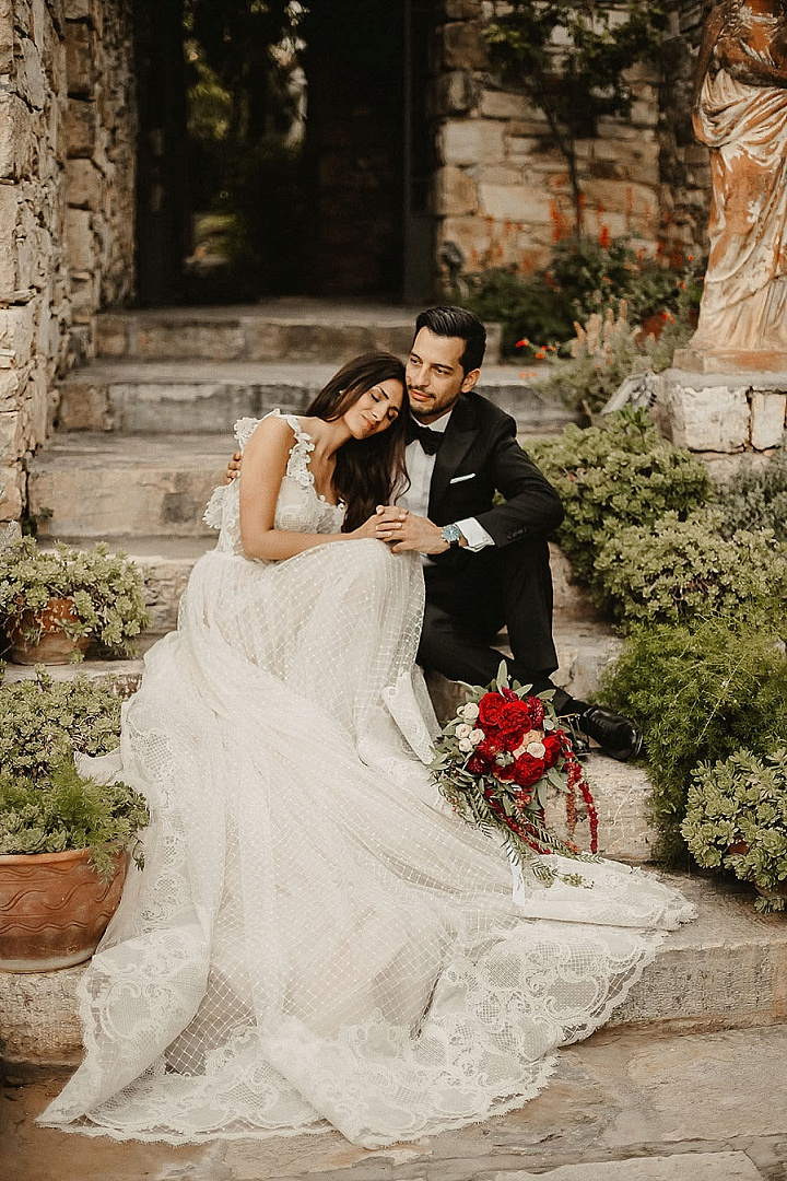 Konstantinos and Anatoli's 'Mediterranean Garden' Outdoor Greek Wedding by WedPashalis