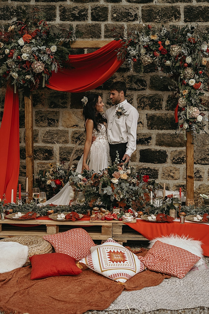 'Shades of Autumn' Boho Chic Outdoor Micro Wedding Inspiration